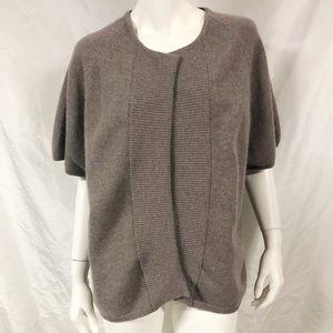 JOHNSTONS OF ELGIN Cashmere Open Cardigan Sweater